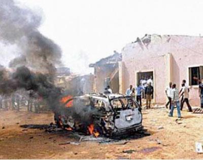 Suicide bombing, Harvest Field Church, Bauchi, Nigeria, June 3, 2012 Photo: Courtesy World Watch Monitor