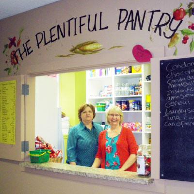 Jane LaVacca and Erika Klassen of Westview Christian Fellowship Photo: Courtesy S4W