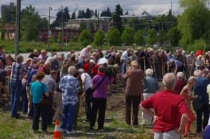 Groundbreaking for the new MCC building on Gladys Avenue in Abbotsford.