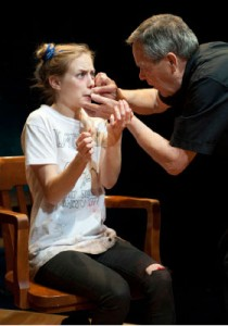 Karyn Guenther in Leave of Absence Photos: courtesy Pacific Theatre