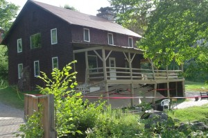 The auberge at Camp Peniel.  PHOTO: Esther Lachance