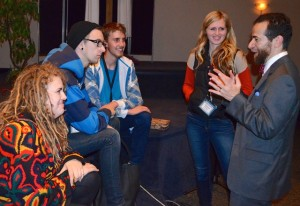 Bethany students engaged with plenary speaker Robert Gagnon at 2013's study conference.