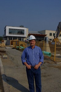 Wayne Bremner, MCC B.C. executive director, is pleased with the new building that will centralize the organization's Abbotsford thrift operations and administration.
