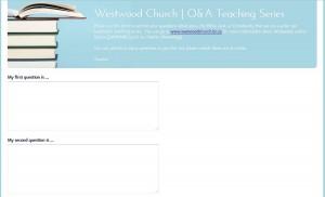 westwoodQ&A