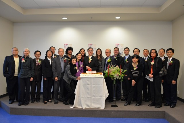 Dedication of the New Blessed House, Nov. 23, 2014.
