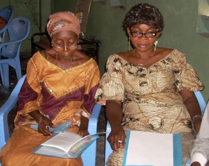Church leaders study the Word. Photos: David Wiebe