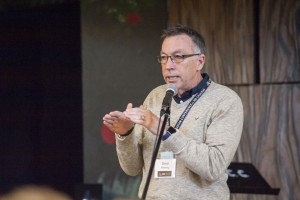 Gord Fleming explains the vision at a breakout session at study conference 2015. PHOTO by Carson Samson.
