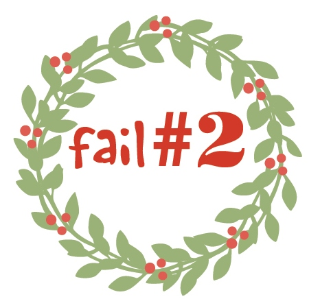 Christmas season fail 2