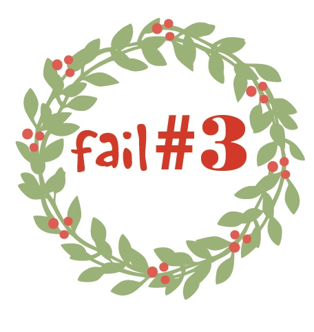 Christmas season fail 3