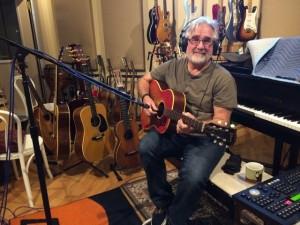 Roy Salmond in his studio