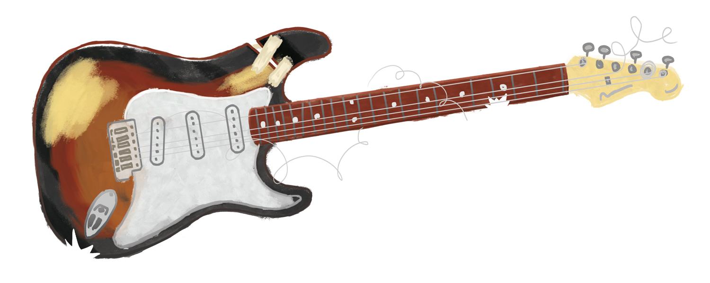 beat-up-guitar