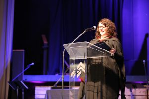CBC commencement speaker Kathleen Doll. PHOTO courtesy of CBC.