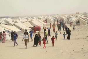 Displaced people in Iraq. (Photo courtesy of Afkar Society for Development and Relief)