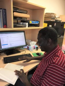 Reviewer Arisnel Mesidor works as migration coordinator for MCC Manitoba