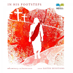 In His Footsteps book cover
